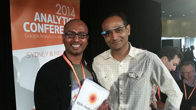 Karthik with Avinash Kaushik