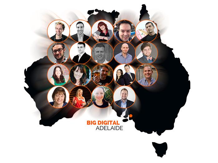 Australian Speakers at Big Digital Adelaide 2016