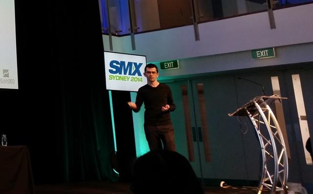 Dan Petrovic at SMX Sydney