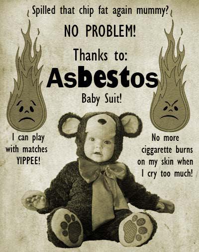 Asbestos Baby Suit