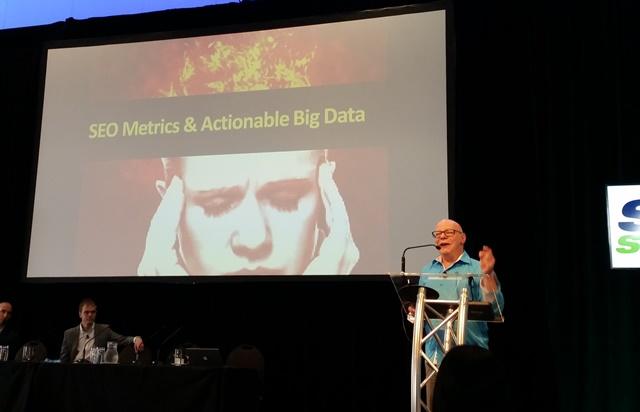 Marty Weintraub at SMX Sydney