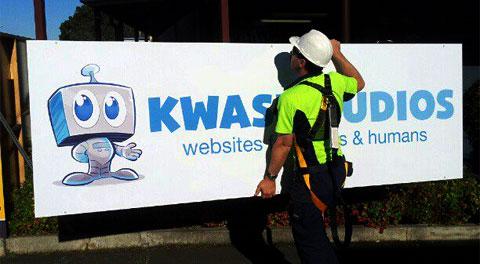 Kwasi Studios Big Sign